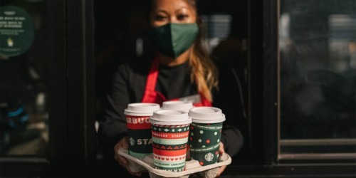 Starbucks Brings Back 5 Favorite Holiday Drinks