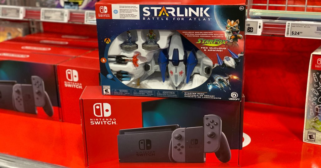 Nintendo Switch Game Console with Starlink Battle for Atlas Starter pack in store