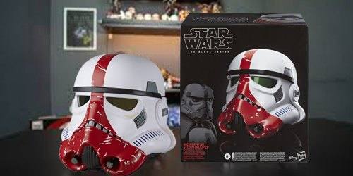 Collectible Star Wars Incinerator Stormtrooper Electronic Helmet Just $59.99 Shipped at Best Buy (Regularly $100)