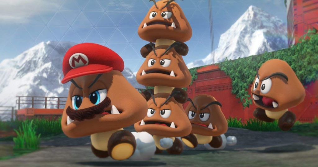 screen grab from super mario odyssey game