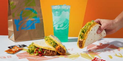 Taco Bell Coupons & Promotions | $1 Nacho Double Stacked Taco