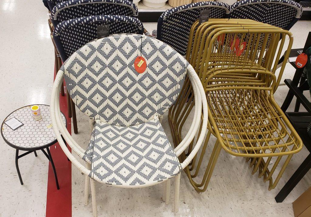target furniture in store