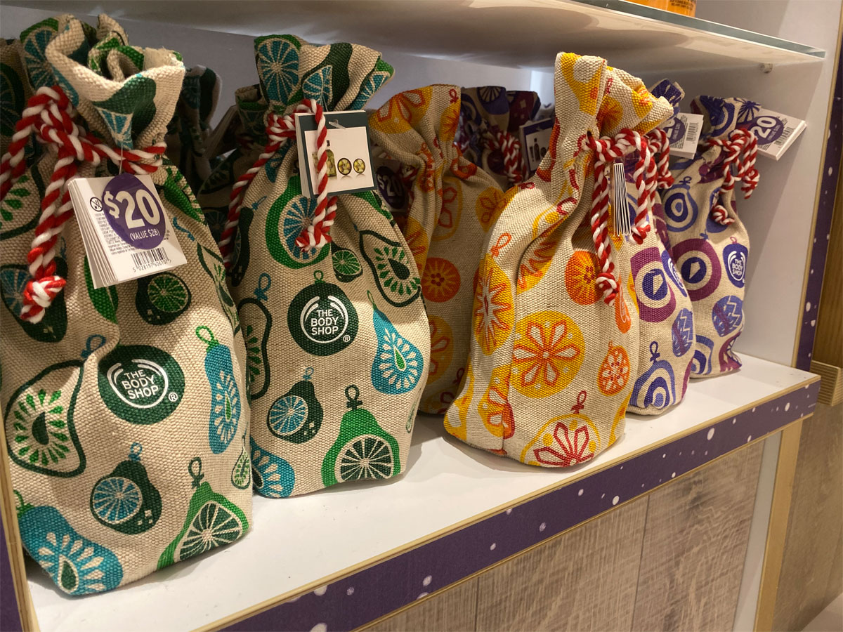 Festive Sacks - Juicy Pear, Rich Vanilla, Warm Plum