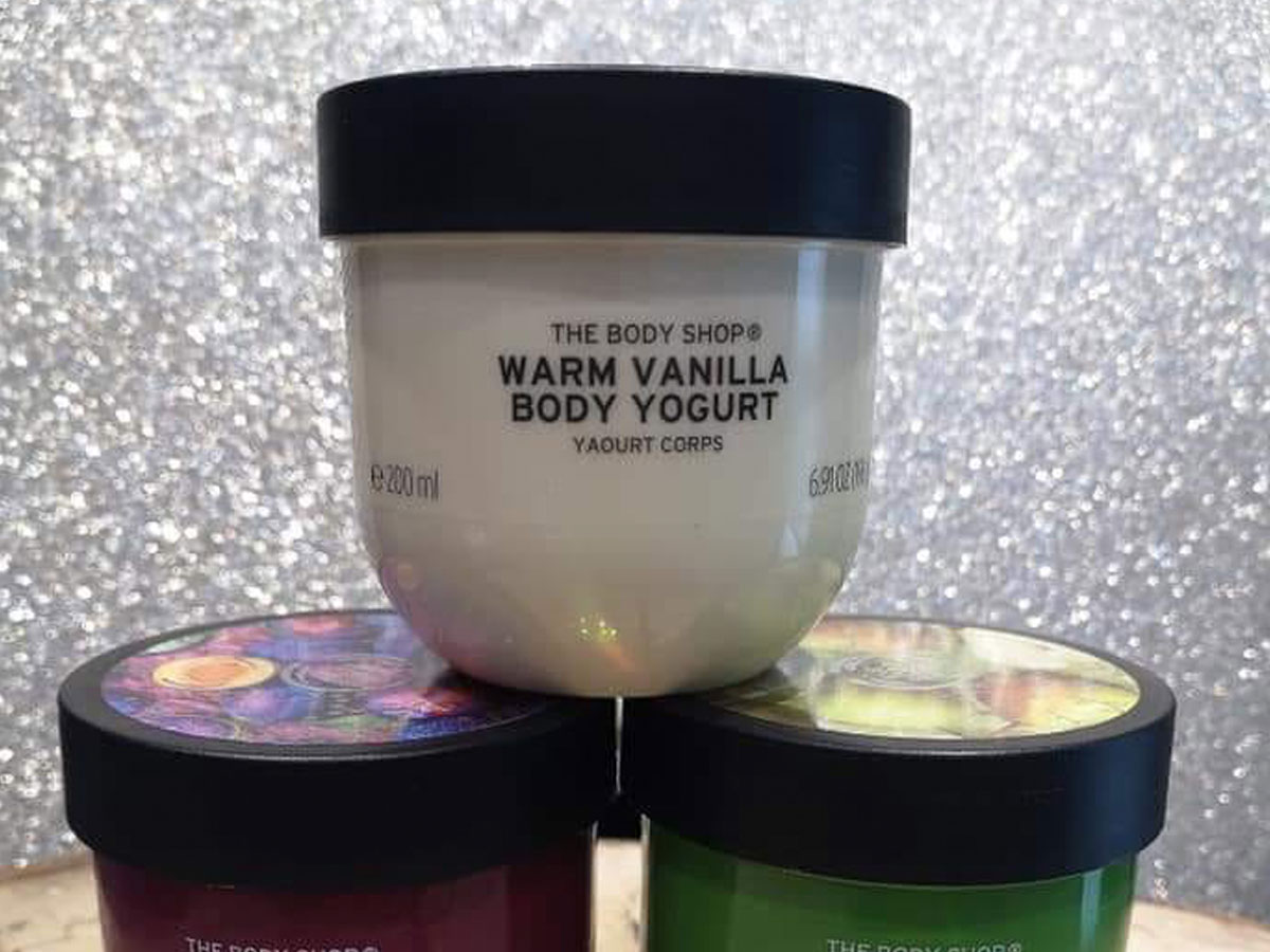 the body shop warm vanilla body yogurt
