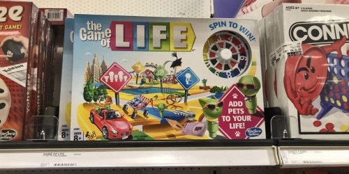 The Game Of Life Only $7.99 at Walmart.com (Regularly $20)