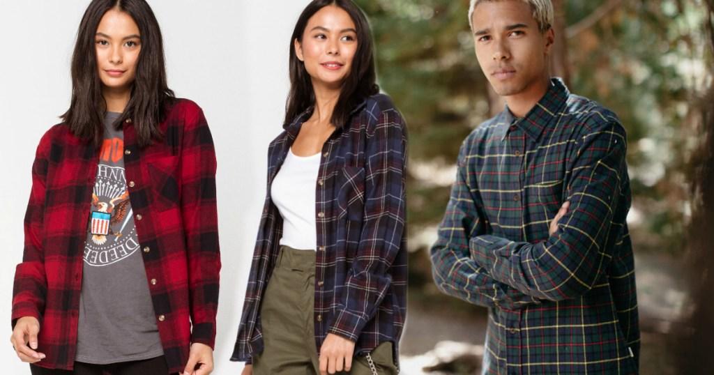 tillys-flannel-shirts