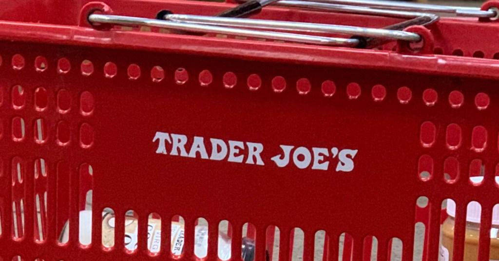 Trader Joe's shopping basket