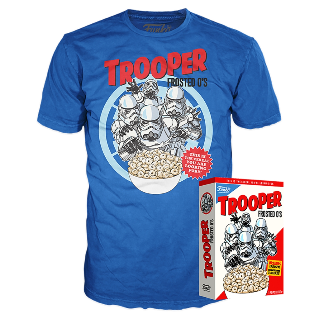 Trooper Frosted O's boxed T-shirt