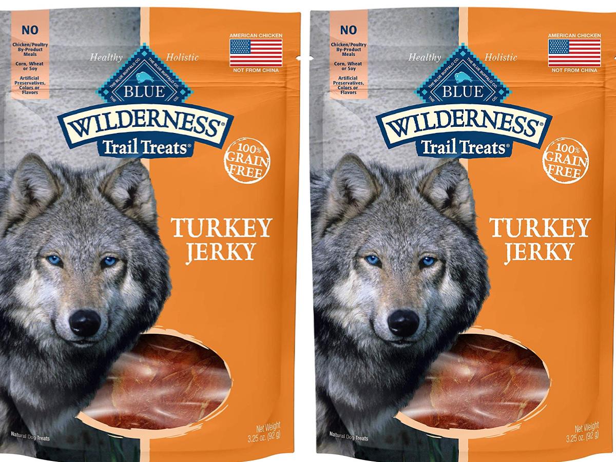 blue wilderness turkey jerky