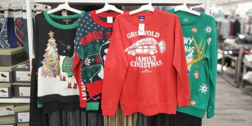 30% Off Ugly Holiday Sweaters & Tees for the Family at Target.com