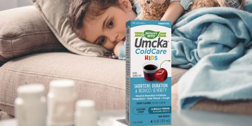 Nature's Way Umcka ColdCare Kids Syrup Just $2.90 Shipped at Amazon (Regularly $12)