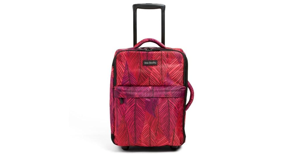 vera bradley wheeled luggage