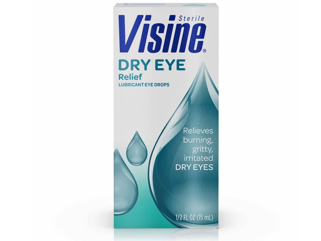 stock image of Visine All Day Comfort Dry Eye Relief Eye Drops