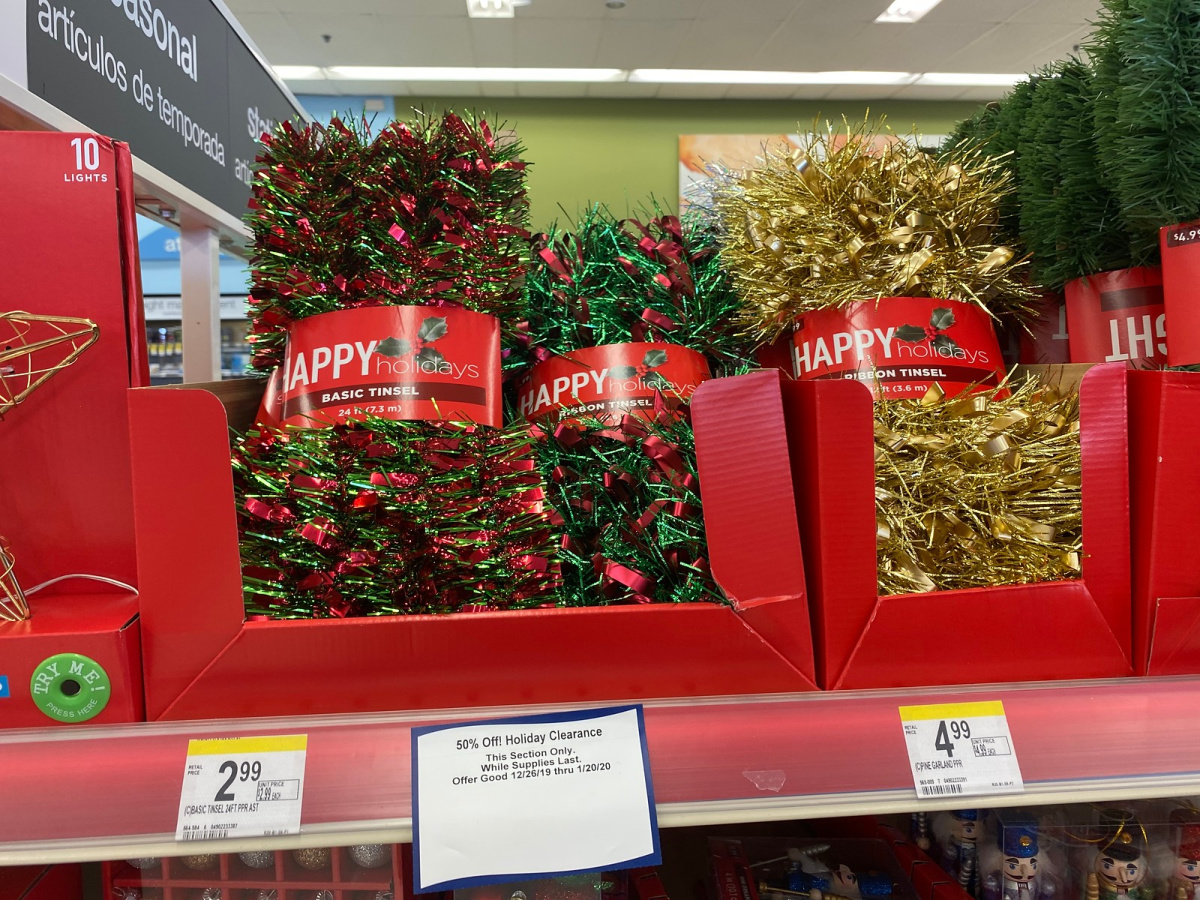Christmas Clearance at Walgreens
