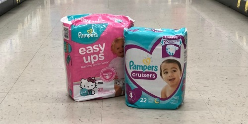 Pampers Diapers or Training Pants Just $5.66 Each Shipped After Rebate on Walgreens.com