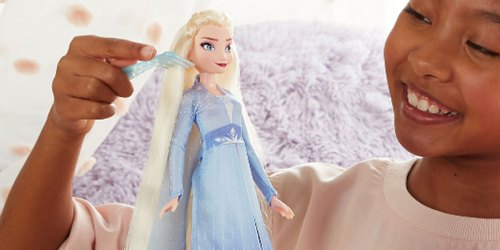 Disney Frozen 2 Elsa or Anna Doll w/ Automatic Hair Braiding Tool Just $9.88 at Walmart (Regularly $25)