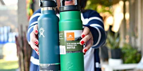Hydro Flask Vs. Ozark Trail Water Bottles – Cold Water Challenge!
