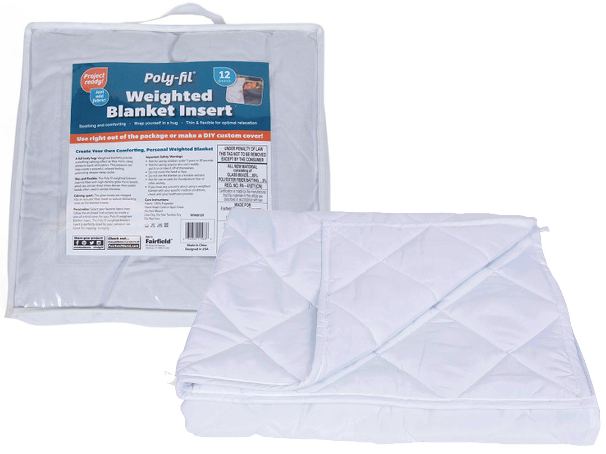 Weighted Blanket Insert Only 14 97 At Walmart Regularly 46 Great For Stress Anxiety Insomnia More