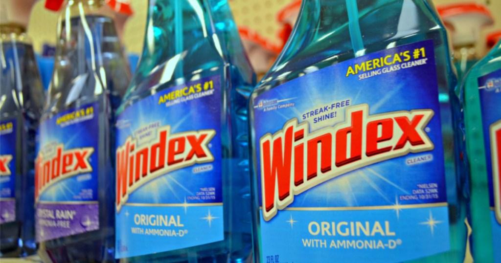 windex original spray on store shelf