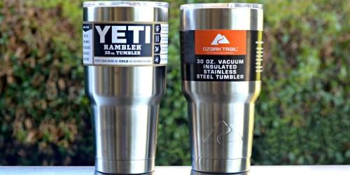 YETI Vs. Ozark Trail Challenge—Which Tumbler Wins?!