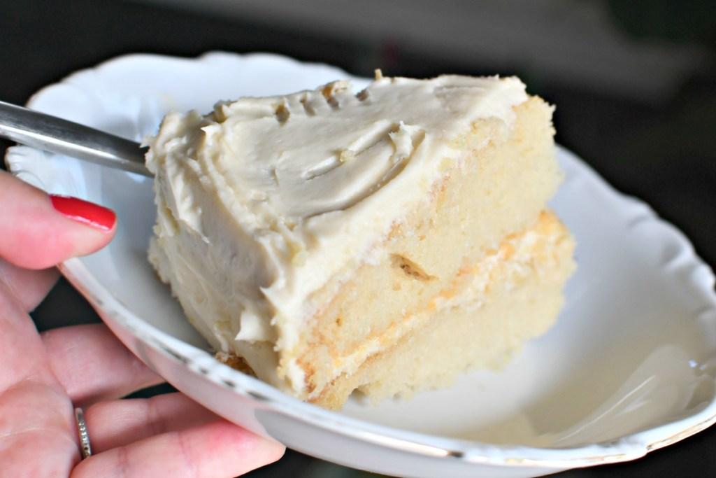 yummy slice of crazy cake