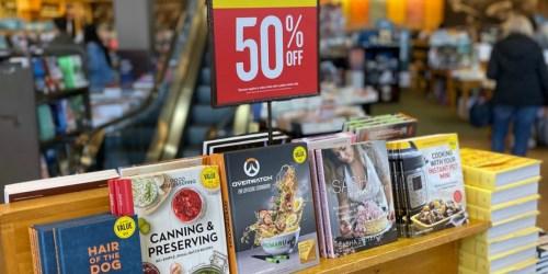 50% Off Moleskine Notebooks, LEGO Idea Books, Cookbooks & More at Barnes & Noble