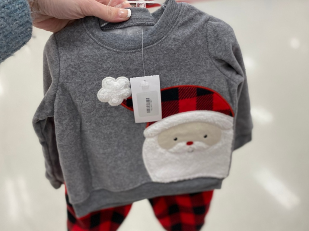 Just One You by Carters Santa Top and Bottom Target