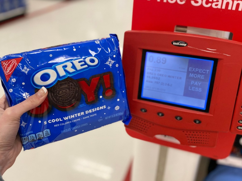 Winter Oreo Cookies at Target