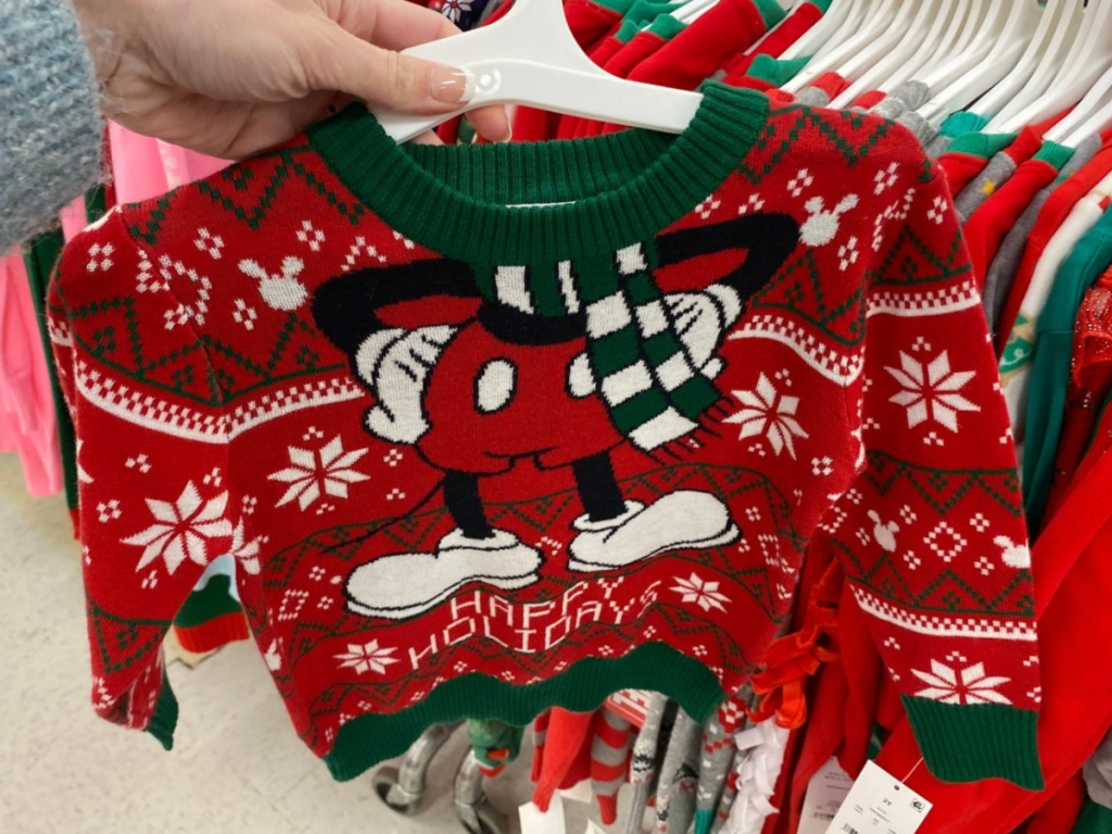 Mickey Mouse Holiday Sweater at Target