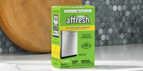 Affresh Dishwasher Cleaner Tablets 6-Count Only $2.99 Shipped on Amazon (Regularly $6)