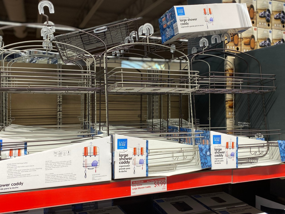 Easy Home Large Shower Caddy at Aldi