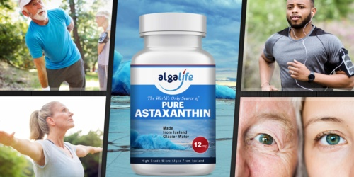 Algalife Pure Astaxanthin for Joint, Muscle & Eye Health 50-Count Only $11.99 at Amazon