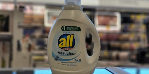 All Liquid Laundry Detergent 88oz Bottle Only $5.62 Shipped on Amazon (Regularly $12)