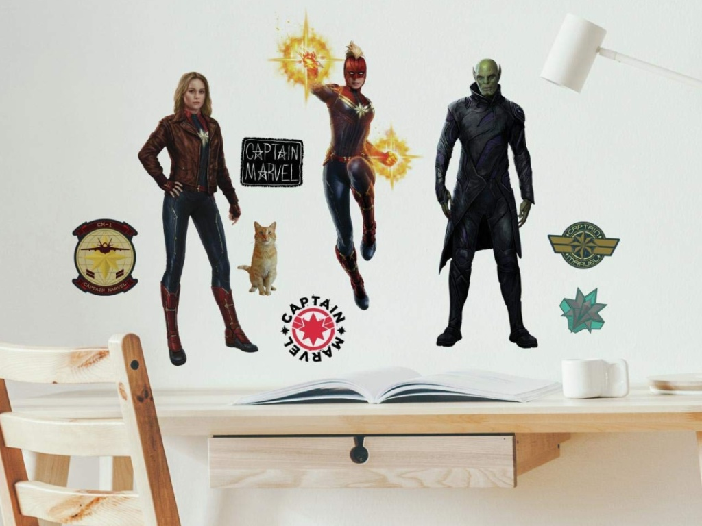 Disney Marvel Wall Decals at Amazon