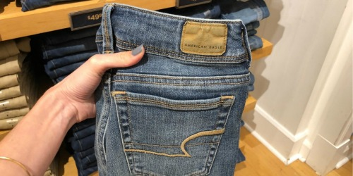American Eagle Jeans Just $19.99 (Regularly up to $80)