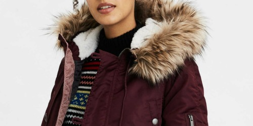 American Eagle Women's & Men's Parkas Only $29.99 (Regularly up to $150)