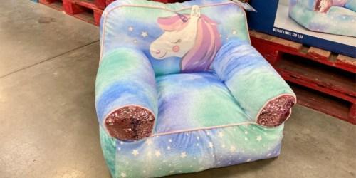 Adorable Unicorn Bean Bag Chair Only $29.98 at Sam's Club