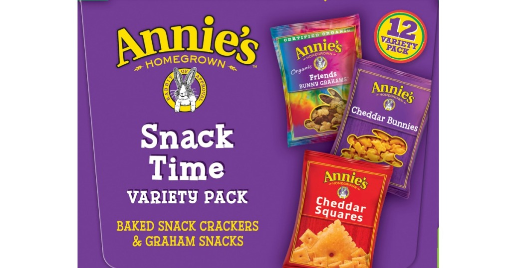 Annie's Snack Time Pack box