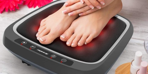 Foot Massager w/ Remote Control & Heat Only $49.99 Shipped at Amazon