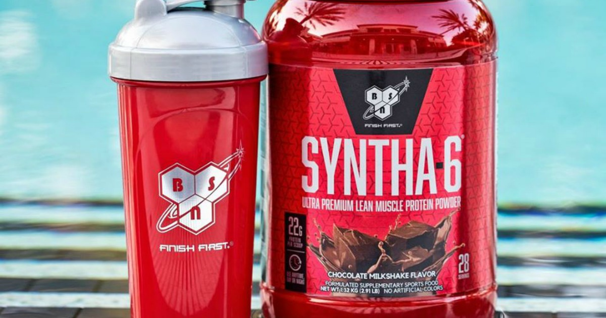 Bsn Syntha 6 Edge Protein Powder 4 Pound Container Only 23 94 Shipped At Amazon
