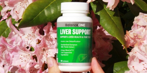 BalanceONE Liver Support 60-Count Capsules Only $13.73 Shipped on Amazon | Increases Energy Levels