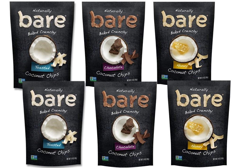 Bare Coconut Chips Variety Pack