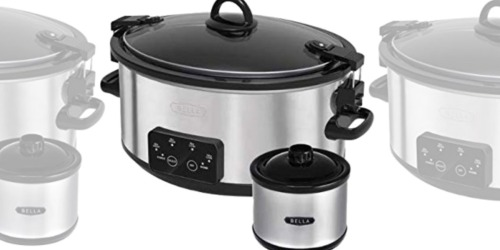 Bella 6-Quart Slow Cooker w/ Mini Dipper Only $19.99 (Regularly $40) | BJ's Warehouse Club Members