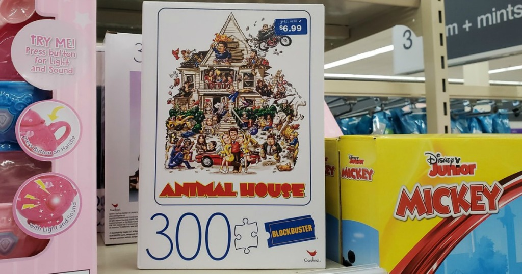 Blockbuster Puzzles from Walgreens