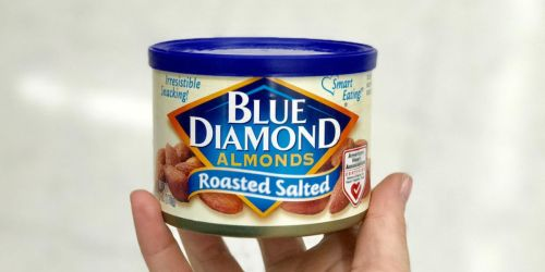 Blue Diamond Almond Cans Just $2.50 Each Shipped on Walgreens.com