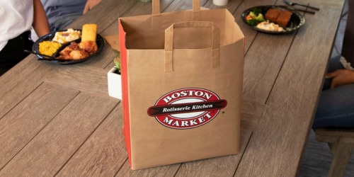 FREE Kids Meals at Boston Market w/ No Purchase Needed + NEW $10 Off $30 Coupon
