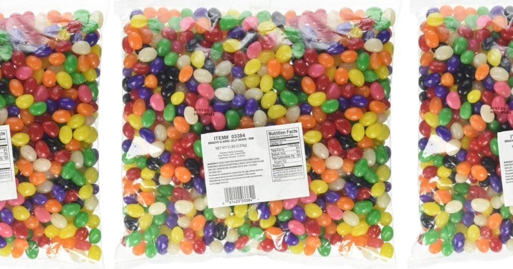 Plastic bag of Brach's Jeally Beans
