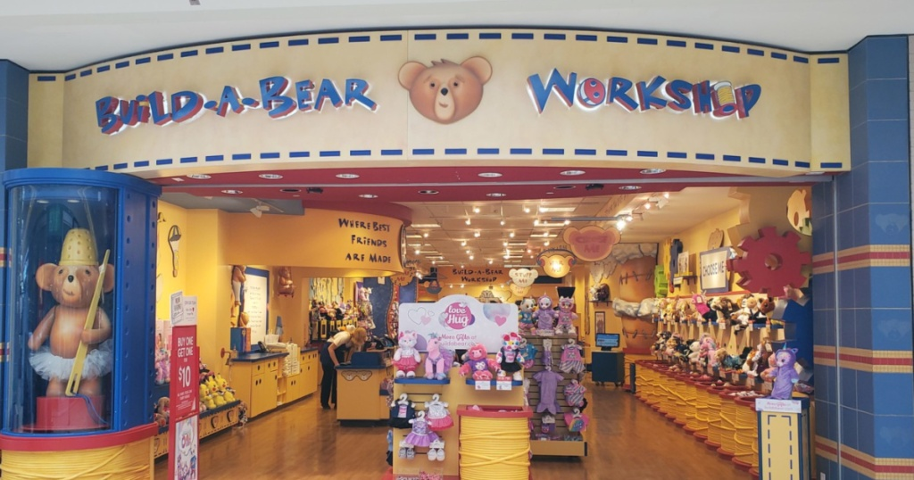 Build A Bear Storefront