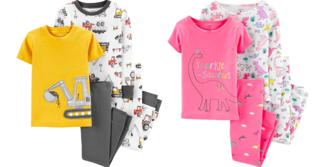 boys and girls Carter's Pajama Sets