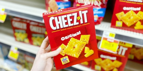 FIVE Cheez-It Cracker Boxes Only $5 at Dollar General (Just $1 Each)